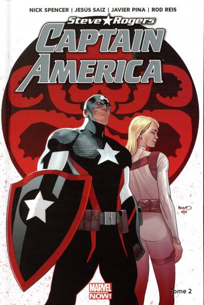 Couverture Captain America - Steve Rogers tome 2