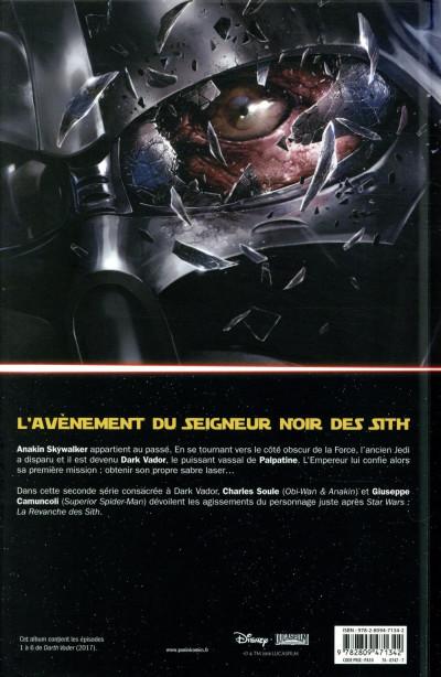 Dos Dark vador  - Le seigneur noir des sith tome 1
