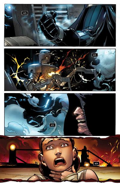 Page 9 Dark vador  - Le seigneur noir des sith tome 1