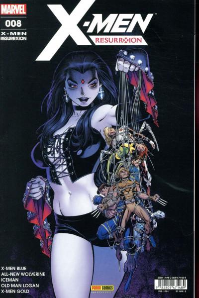 Couverture X-Men resurrxion tome 8