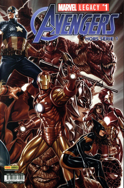 Couverture Avengers - hors-série tome 1