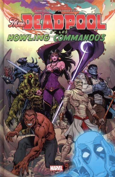 Couverture Mrs Deadpool et les howling commandos