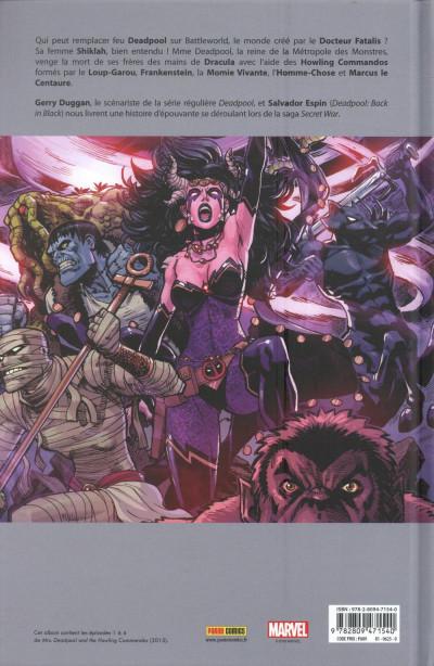Dos Mrs Deadpool et les howling commandos