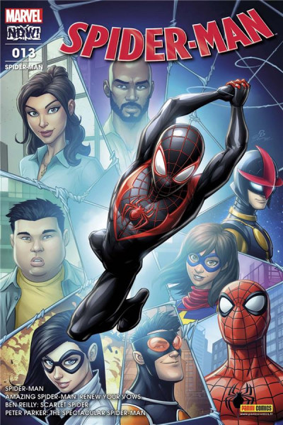 Couverture Spider-man tome 13