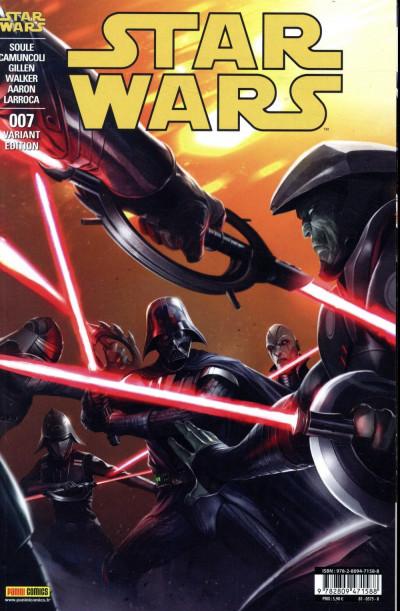 Couverture Star wars - fascicule série 2 tome 7 (couverture 2/2)