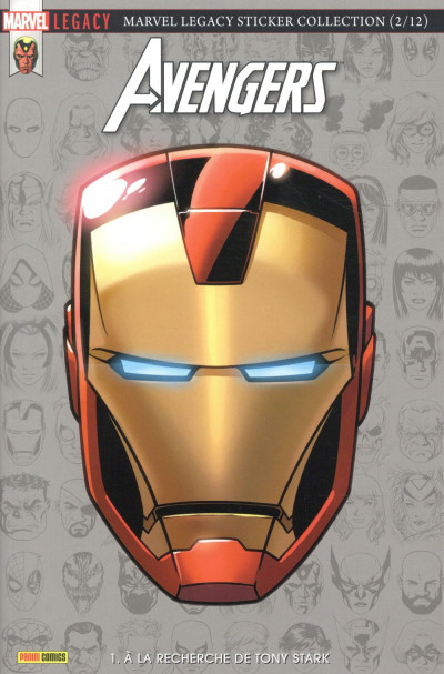 Couverture Marvel legacy - Avengers tome 1