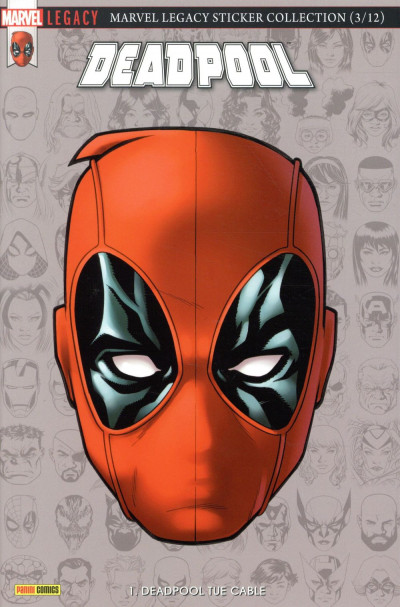 Couverture Marvel legacy - Deadpool tome 1