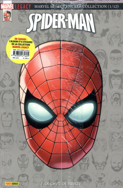 Couverture Marvel legacy - Spider-man tome 1
