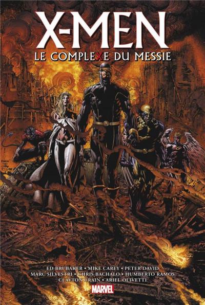 Couverture X-men - Le complexe du messie