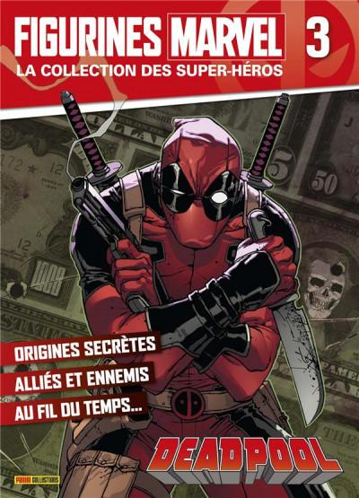 Couverture Figurine Marvel n°3 - Deadpool