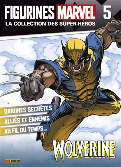 Couverture Figurine Marvel n°5 - Wolverine