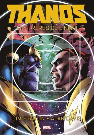 Couverture Thanos - Les frères de l'infini