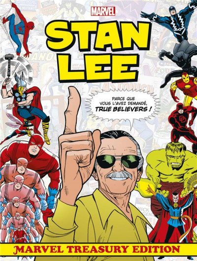 Couverture Stan Lee - Treasury edition