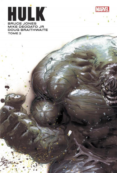 Couverture Hulk par Jones et Deodato Jr tome 2
