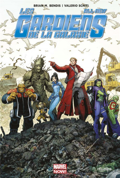 Couverture All-new Les gardiens de la galaxie tome 4