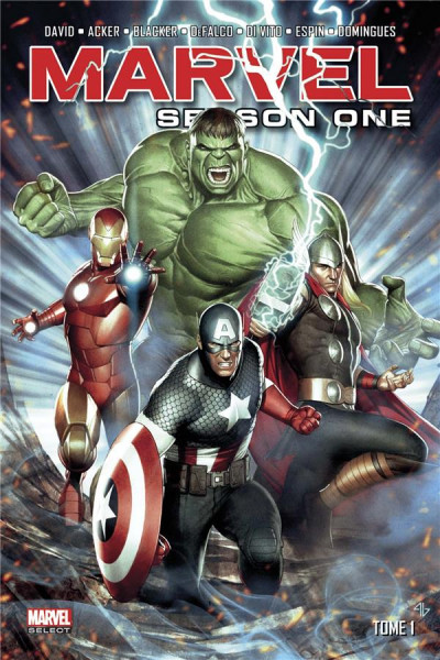 Couverture Marvel - season one tome 1
