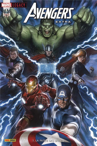 Couverture Marvel legacy - Avengers extra tome 1