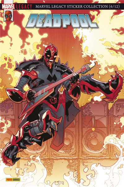 Couverture Marvel legacy - Deadpool tome 2