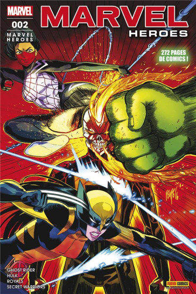 Couverture Marvel heroes tome 2