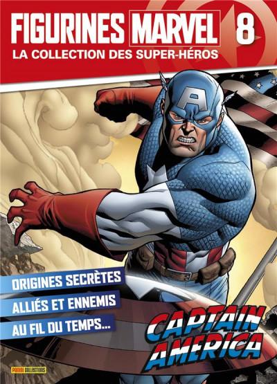 Couverture Figurine Marvel n°8 - Captain America