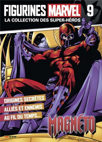 Couverture Figurine Marvel n°9 - Magneto