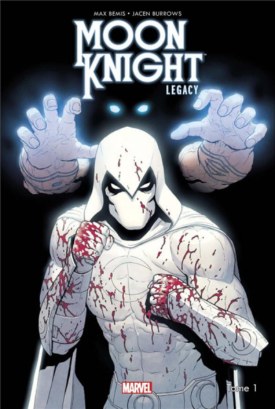 Couverture Moon Knight legacy tome 1