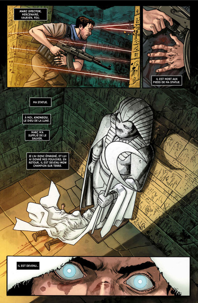 Page 5 Moon Knight legacy tome 1