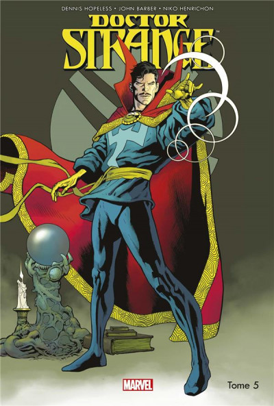 Couverture Doctor Strange tome 5