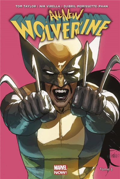 Couverture All-new Wolverine tome 3