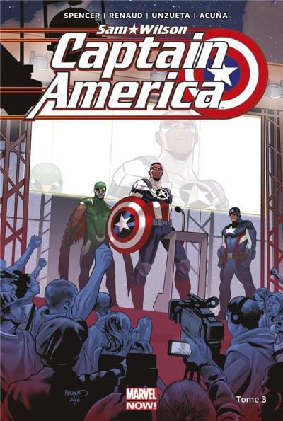 Couverture Captain America - Sam Wilson tome 3