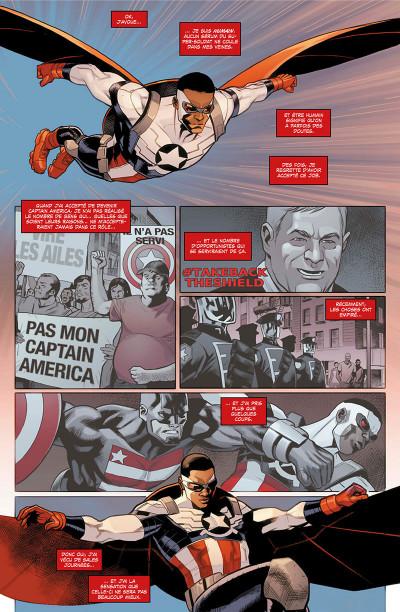 Page 8 Captain America - Sam Wilson tome 3