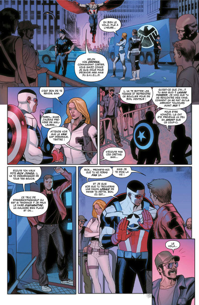 Page 9 Captain America - Sam Wilson tome 3