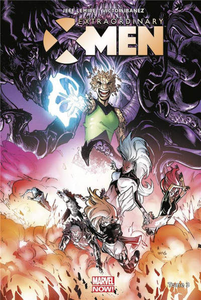 Couverture Extraordinary X-men tome 3