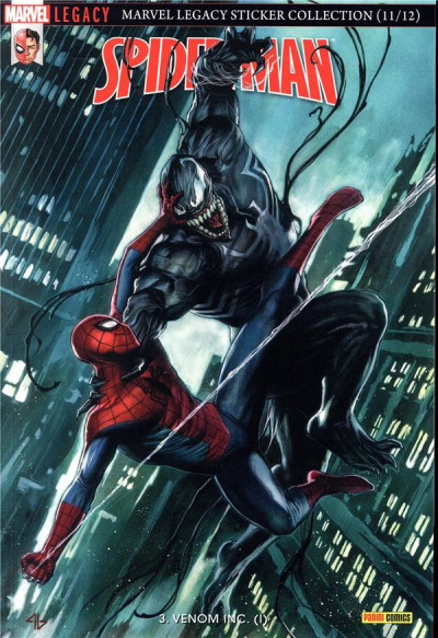 Couverture Marvel legacy - Spider-man tome 3