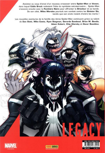 Dos Marvel legacy - Spider-man tome 3