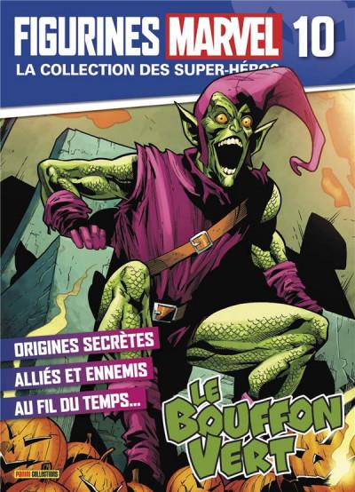 Couverture Figurine Marvel n°10 - Le bouffon vert