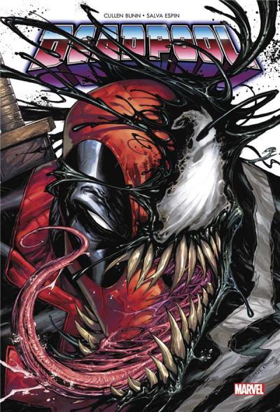 Couverture Deadpool - retour au noir