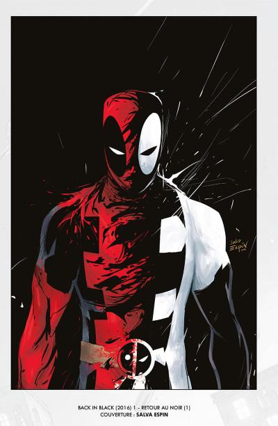 Page 4 Deadpool - retour au noir