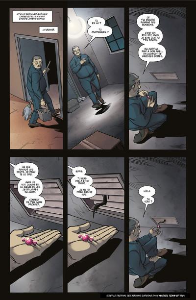 Page 9 Deadpool - retour au noir