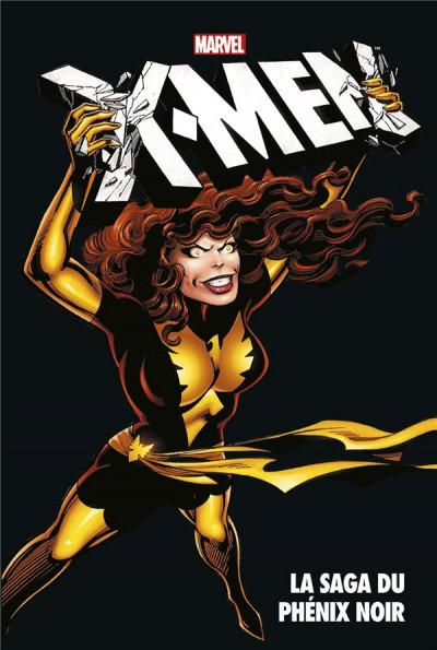 Couverture X-Men - La Saga du Phénix noir (sous coffret)