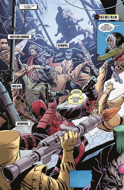 Page 6 Deadpool massacre Marvel tome 2