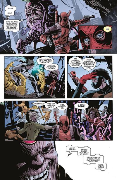 Page 8 Deadpool massacre Marvel tome 2
