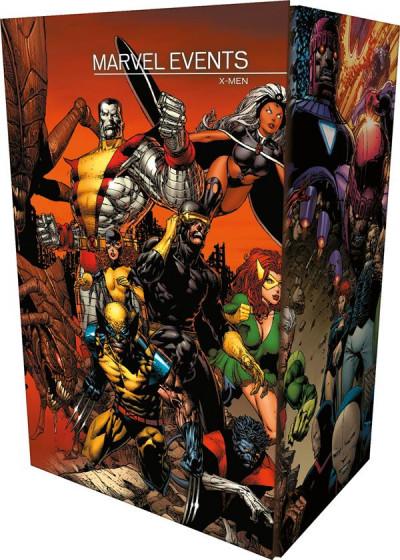 Couverture Coffret Marvel Events - X-Men