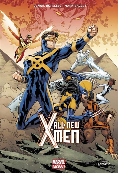 Couverture All-new X-Men tome 2