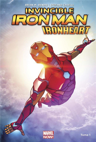 Couverture Invicible Iron Man - Ironheart tome 1
