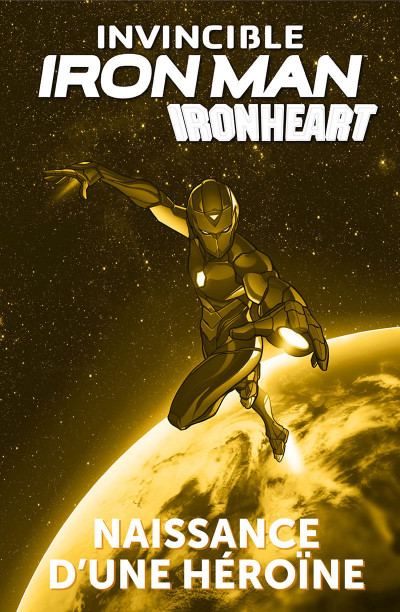 Page 1 Invicible Iron Man - Ironheart tome 1
