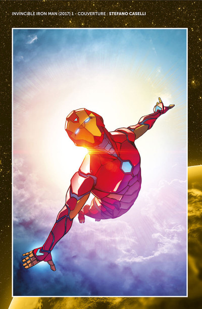 Page 4 Invicible Iron Man - Ironheart tome 1