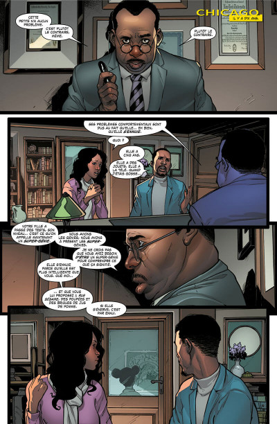 Page 5 Invicible Iron Man - Ironheart tome 1