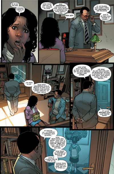 Page 6 Invicible Iron Man - Ironheart tome 1