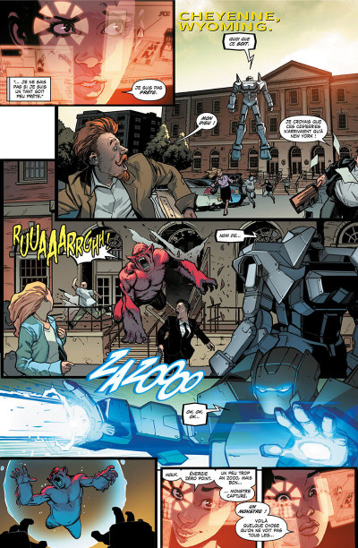 Page 9 Invicible Iron Man - Ironheart tome 1